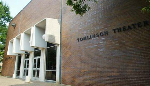Tomlinson Theater, the home of Temple Theatrical Productions